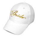 Bride Baseball Cap-Gold embroidery