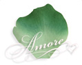1000 Silk Rose Petals Variegated Green Clover-2 Tones