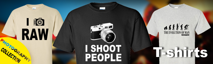 Photography t-shirts