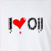 I Love Oil Long Sleeve T-Shirt