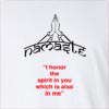 "Namaste "" I Honor The Spirit In You Which Is Also In Me"" Long Sleeve T-Shirt"