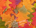 Silk Oak Fall Leaves Wedding 600