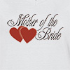 Ladies V Neck T-shirt Mother Of The Bride 01 T-shirt