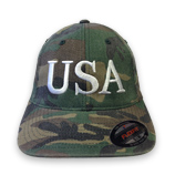 USA Hat Embroidery - 45 President Inauguration Adult Military Cap