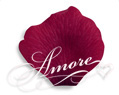 Burgundy Silk Wedding Rose Petals Bulk 10000