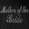 Mother of the Bride Rhinestones Wedding Hooded Sweatshirt