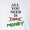 All You Need Is Not Love Money Long Sleeve T-Shirt