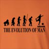 The Evolution Of Man Soccer FIFA UEFA Long Sleeve T-Shirt