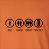 Bad Good Great Perfect Lincoln Long Sleeve T-Shirt