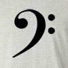 Bass Clef Long Sleeve T-Shirt