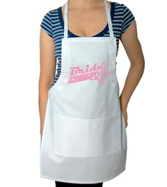 Bride 2012 Wedding Apron